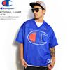 Champion FOOTBALL T-SHIRT -BLUE- C3-P308画像