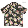 "SUN SURF S/S RAYON HAWAIIAN SHIRT ""KABUKI MAKE UP"" SS38036画像"