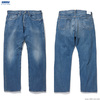 RADIALL KUSTOM 350B - STRAIGHT FIT PANTS (LIGHT INDIGO) RAD-DNM-PT008-02画像