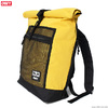OBEY CONDITIONS ROLL TOP BAG (ENERGY YELLOW)画像