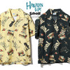 Schott HAWAIIAN SHIRT TATOO 3195026画像