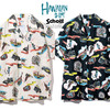 Schott HAWAIIAN SHIRT NY MAP 3195025画像