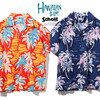 Schott HAWAIIAN SHIRT PALM TREE 3195024画像