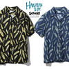 Schott HAWAIIAN SHIRT FEATHER 3195022画像