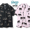 Schott HAWAIIAN SHIRT BULLDOG 3195023画像