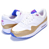 NIKE AIR MAX 1(GS) white/white-metallic gold 807605-103画像