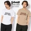Schott T-SHIRT HARLEM NEWYORK 3193103画像