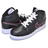 NIKE AIR JORDAN 1 MID SE(GS) black/black-white BQ6931-016画像