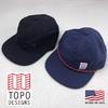 TOPO DESIGNS CORD CAP画像