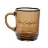 Ron Herman Rh California Glass Mug BLACK画像
