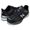 new balance M990BK5 BLACK/SILVER made in U.S.A.画像