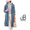 JOHNBULL Classic Shirt Dress Cotton/Linen 7oz Denim Used AW624画像