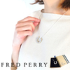 FRED PERRY Enamelled LaurelWreath SilverNecklace MS2704画像