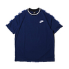 NIKE AS M NSW NSP TOP SS CHECK BLUE VOID/ROYAL BLUE/WHITE AR1635-492画像