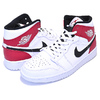 NIKE AIR JORDAN 1 MID white/black-gym red 554724-116画像
