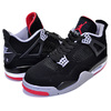 NIKE AIR JORDAN 4 RETRO BRED black/fire red-cement grey 308497-060画像