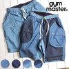 gym master ドロップポケットデニムショーツ G257653画像