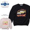 TOYPLANE PACMAN CREW NECK SWEAT TP19-NSW02画像