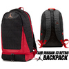 NIKE JORDAN RETRO 13 BACKPACK black/gym red 9A1898-KR5画像