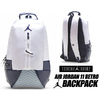 NIKE JORDAN RETRO 11 BACKPACK white/obsidian 9A1971-WU4画像