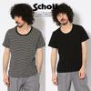Schott × Miller PANEL RIB UNECK T-SHIRT 3193107画像