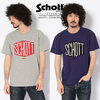 Schott HEXAGON LOGO T-SHIRT 3193061画像
