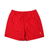 Carhartt CHASE SWIM TRUNK RED I026235-9N90画像