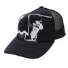 UNDERCOVER VLADS SOFT MESH CAP BLACK画像