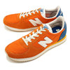 new balance U220GC VINTAGE ORANGE画像