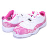NIKE WMNS AIR JORDAN 11 RETRO LOW white/watermelon-black AH7860-106画像
