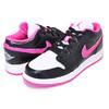 NIKE AIR JORDAN 1 LOW(GS) black/hyper pink-white 554723-061画像