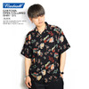 RADIALL OAKTOWN OPEN COLLARED SHIRT S/S -BLACK-画像