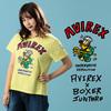 AVIREX WOMEN'S BOXER JUNTARO フロッグマンTシャツ 6293103画像