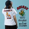 AVIREX WOMEN'S BOXER JUNTARO ピンナップガールTシャツ 6293102画像