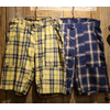 "FREEWHEELERS GREAT LAKES GMT. MFG.Co ""BUSHMASTER"" Vintage Cotton/Linen Check 1922006画像"