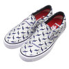 Supreme × VANS 19SS Diamond Plate Slip-On Pro WHITE VN0A347VTEF画像