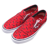 Supreme × VANS 19SS Diamond Plate Slip-On Pro RED VN0A347VTEH画像