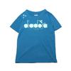 DIADORA W LOGO T SHIRTS BLUE DGC9526-65画像