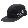 Supreme 19SS Side Logo Camp Cap BLACK画像