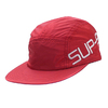 Supreme 19SS Side Logo Camp Cap RED画像