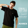 AVIREX SMALL BOX LOGO T-SHIRT 6193552画像