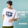 AVIREX T-SHIRT NEW YORK 75 6193549画像