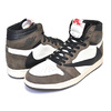 NIKE AIR JORDAN 1 HI OG TRAVIS SCOTT SP sail/black-dark mocha CD4487-100画像
