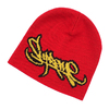 Supreme 19SS Tag Logo Beanie RED画像