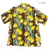 "SUN SURF S/S RAYON HAWAIIAN SHIRT ""SCREW PINE BORDER"" SS38042画像"