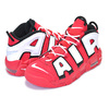 NIKE AIR MORE UPTEMPO QS(GS) university red/white-black CD9402-600画像