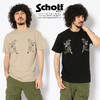 Schott SKULL TATTO T-SHIRT 3193087画像