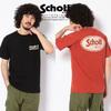 Schott OVAL LOGO T-SHIRT 3193084画像
