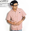 CLUCT S/S BORDER SHIRT -RED- 03016画像