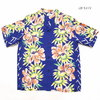 "SUN SURF S/S RAYON HAWAIIAN SHIRT ""ISLAND FLOWER SHOWER"" SS38038画像"